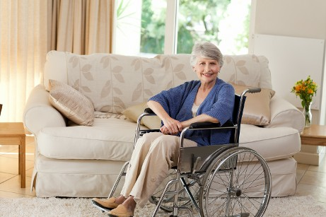 Smiling Woman in Wheelchair, Estate Planning, Louisville, KY
